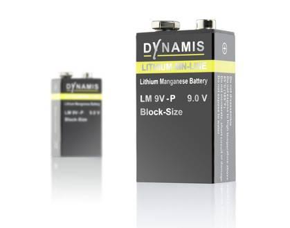 dynamis batterien lithium mangandioxid 9 0v. Black Bedroom Furniture Sets. Home Design Ideas