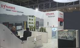 DYNAMIS Booth on the electronica 2016